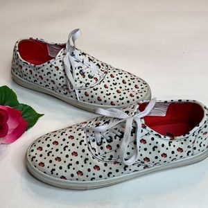 Disney Womens Size 10 White Mickey & Minnie Shoes